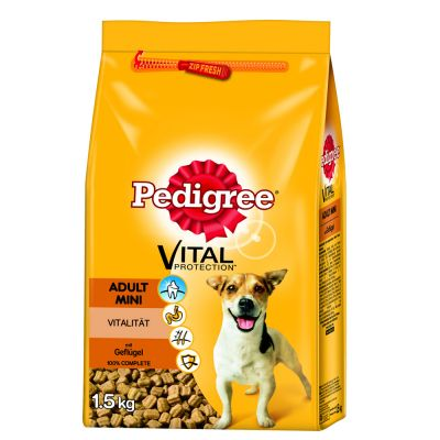 Pedigree Adult Mini with Poultry - Economy Pack: 3 x 1.5kg