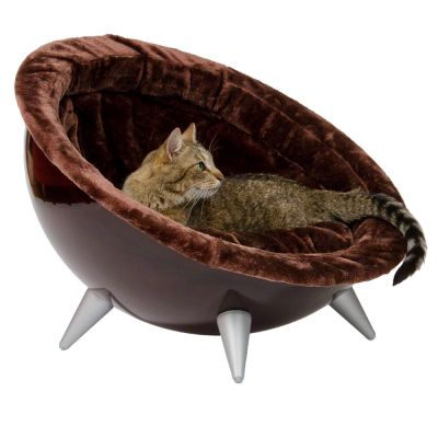 Retro Cat Nest Brown - Diameter 60 cm brown