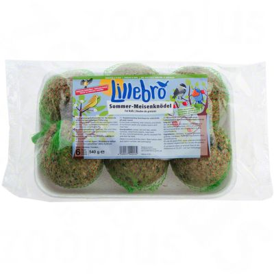 Lillebro Summer Fat Balls - 6 fatballs each 90 g