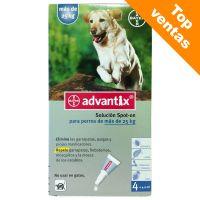 Advantix soluci n spot on para perros de m s de 25 kg - Pipeta advantix despues bano ...