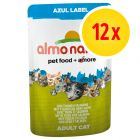 Almo Nature Azul Label in pouch 12 x 70 g