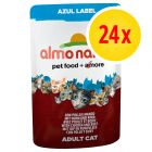 Almo Nature Azul Label Pouches Saver Pack 24 x 70g