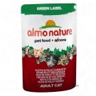 Almo Nature Green Label filé v kapsičke 6 x 55 g