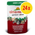 Almo Nature Green Label Fillets in Pouches 24 x 55g