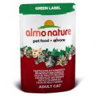 Almo Nature Green Label Fillets in Pouches 12 x 55g