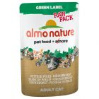 Almo Nature Green Label Raw Pack in Pouches 12 x 55g