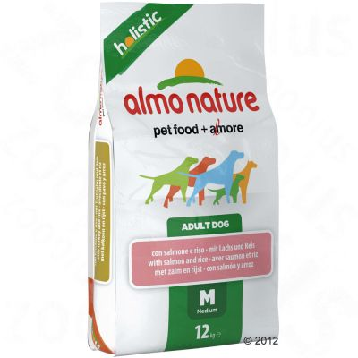 Almo Nature Holistic Adult Medium con salmón y arroz