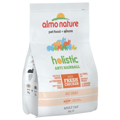 Almo Nature Holistic Anti Hairball Pollo e Riso