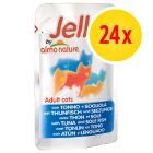 Almo Nature Jelly Pouches Multibuy 24 x 70g