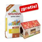 Almo Nature 12 kg + Casita rascador Home ¡gratis!