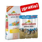 Almo Nature 2 kg + Snack Azul Label 3 x 5 g ¡gratis!