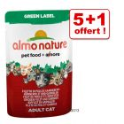 Almo Nature Label 5 x 55 g + 1 offert !