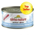Almo Nature Legend, poisson 6 x 70 g