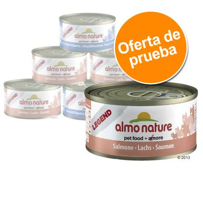 Almo Nature Legend 6 x 70 g - Pack de prueba