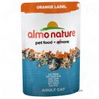 Almo Nature Orange Label bolsitas herméticas 6x70g