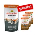 Almo Nature Orange Label 750 g + 3x70 g Bio pouches gratis!