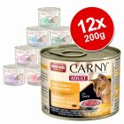 Animonda Carny Adult Mixed Saver Pack 12 x 200g