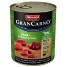 Animonda GranCarno Original Adult, Rind & Entenherzen
