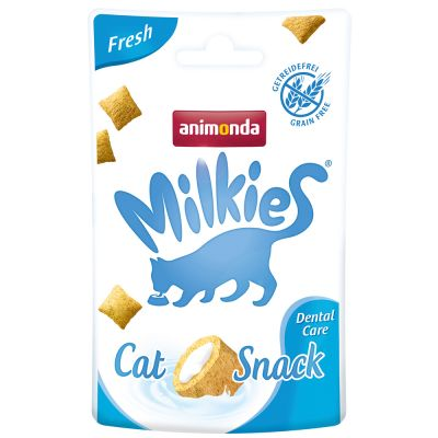 Animonda Milkies Knuspertaschen Fresh - Dental Care