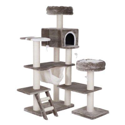 maison en pain d 39 pice xxl arbre chat zooplus. Black Bedroom Furniture Sets. Home Design Ideas