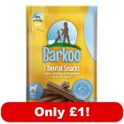 Barkoo Dental Snacks - Only £1!*