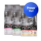Blandat provpack: Purina Pro Plan Sterilised & Adult