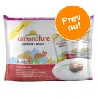 Blandet pakke: Almo Nature Classic 6 x 55 g