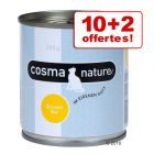 Boîtes Cosma Nature 10  x 280 g + 2 offertes !