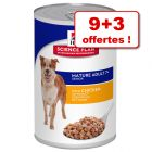 Boîtes Hill's Science Plan Canine 9 x 363/370 g + 3 boîtes offertes !
