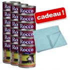 Boîtes Rocco Senior 18 x 800 g + serviette Perfect Care