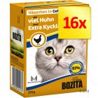 Bozita Chunks in Jelly Multibuy 16 x 370g