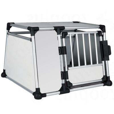 avis sur cage de transport en aluminium trixie pour chien taille l zooplus. Black Bedroom Furniture Sets. Home Design Ideas