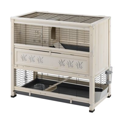 feedback shop rongeurs cage lapin a plusieurs niveaux