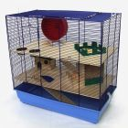 Cage pour rongeur Skyline Fun Area Leon version bleue