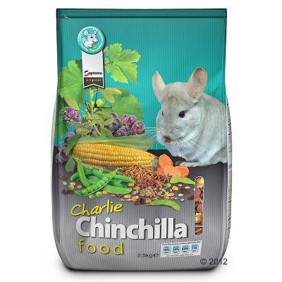 Charlie Chinchilla Food Reviews