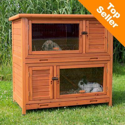 Avis sur clapier natura 2 en 1 avec isolation thermique for Clapier lapin fait maison