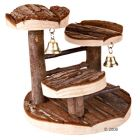 Climbing Frame for Hamsters from Natural Wood