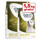 Concept for Life Mini + 1,5 kg gratis!