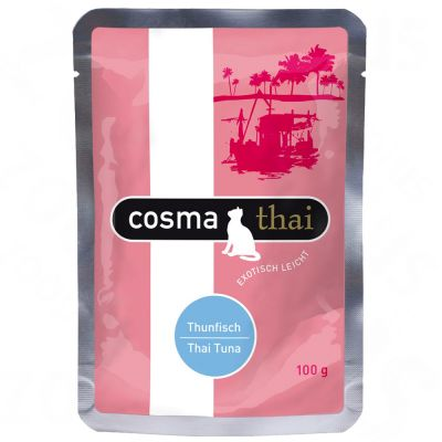 Cosma Thai in busta 6 x 100  g