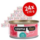 Cosma Thai in Gelei of Thai Fruits Voordeelpakket 24 x 170 g