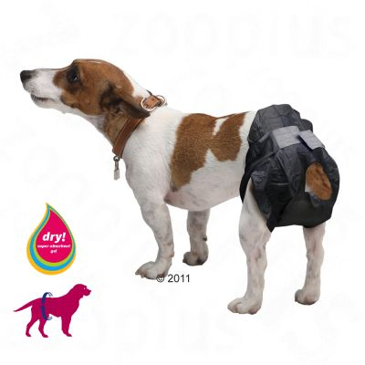 avis sur couches jetables savic comfort nappy pour chien zooplus. Black Bedroom Furniture Sets. Home Design Ideas