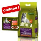 Croquettes Affinity Ultima 3/7,5 kg + 4/8 x 85 g sachets offerts !