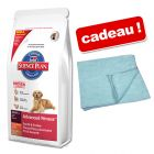 Croquettes Hill's Canine 12/15 kg + serviette Perfect Care