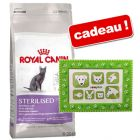 Croquettes Royal Canin 10 kg + cadre photo Pattes offert !