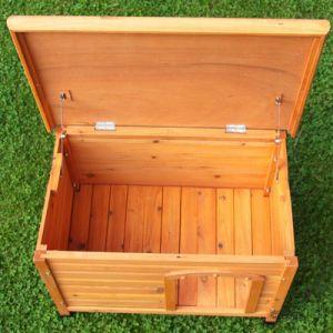 Cuccia esterno per cane legno kit isolante imbottita tg l for Cuccia cane fai da te legno