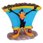 Décoration pour aquarium Daffy Duck à la mine