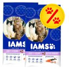 Dobbeltpakke Iams Adult Multi-Cat Household, Pro Active Health