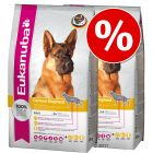 Doble pack: Eukanuba Breed 2 x  7,5/12 kg