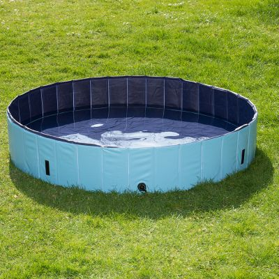 Dog pool keep cool testberichte auf zooplus for Pool plastik