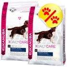 Dubbelpack Eukanuba Daily Care Overweight & Sterilized